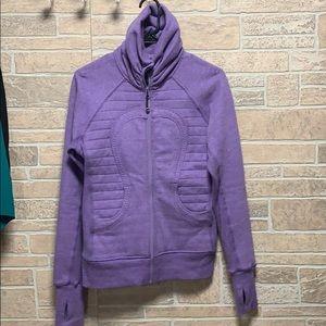 Lululemon cuddle up jacket size 6